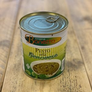 Pesto Genovese 800 gram in a can