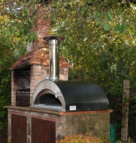Pizza oven pizzaiolo oven hout